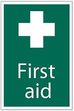 72534 'First Aid' Safety Sign - Draper