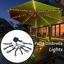 72LED Patio Umbrella Lights Waterproof Outdoor
