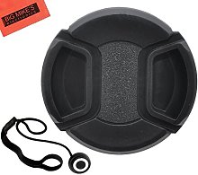 72mm Snap-On Lens Cap for Sony CyberShot DSC-RX10