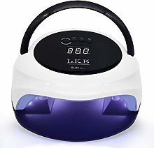 72W LED UV Nail Lamp Dual Mode Nail Dryer for