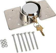 73mm Steel Lock Shackle Lock With 2pcs Copper Key
