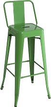 76cm Bar Stool Williston Forge Colour: Green