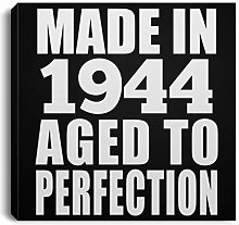 76th Birthday Made in 1944 Aged to Perfection -