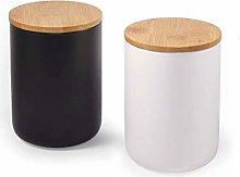 77L Ceramic Food Storage Jar with Storage Bag and