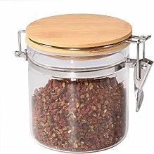 77L Food Storage Jar, 18.58 FL OZ (550 ML), Glass