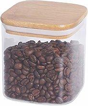 77L Food Storage Jar, Airtight Glass Food Storage