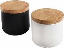 77L Food Storage Jar, (Set of 2) Ceramic Food