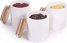 77L Food Storage Jar, (Set of 3) Ceramic Food