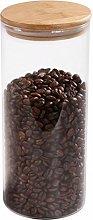 77L Glass Coffee Bean Container, 52.36 FL OZ (1550