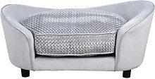78cm Sleek Pet Sofa Small Dog Pet Seat Padded Bed