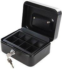 795764 Metal Cash & Valuables Box Keyed 165 x 128