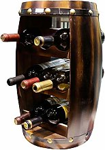 79cm Wooden Barrel Shape Wine Stand/Holder/Rack