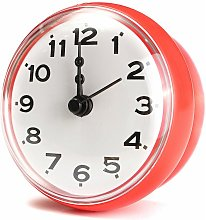 7cm Waterproof Suction Cup Clock Bell Wall Shower