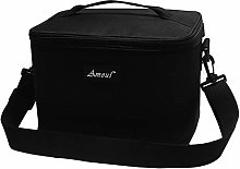 7L Lunch Bag Insulated Thermal Food Bag Black