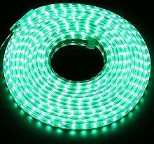 7m LED Strips Lights Green, 220V- 240V Ribbon SMD