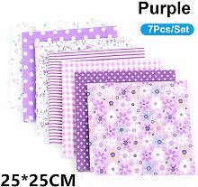 7Pcs/Set DIY Assorted Pattern Floral Printed