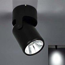 7W Black LED Single Spotlight Fitting for Kitchen