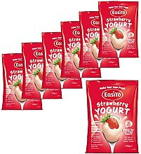 7x EasiYo Sweet Strawberry Yogurt Base Use with