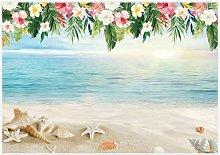7x5ft Luau Beach Backdrop Summer Hawaiian