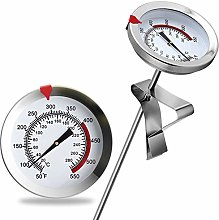 "8"" Mechanical Meat Thermometer Instant Read,"