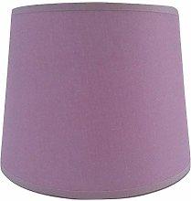 8'' Empire Lilac Cotton Fabric Lampshade