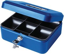 8' Blue Cash Box - Cathedral
