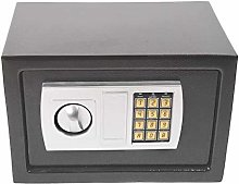 8.5L Grey Digital Safe Box High Security Steel