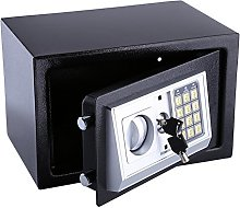 8.5L Safe Box, Home Safe Solid Steel Electronic