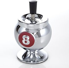8-Ball Cromo Smoking Accessory East Urban Home