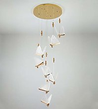 8-Flamming Pendant Lamps Butterfly Type Suspension