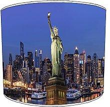 8 Inch Ceiling manhattan new york lampshades2