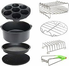 8 Inch XL Air Fryer Accessories 8Pcs for Cozyna