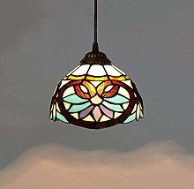 8 Inches Tiffany Style Mini Pendant Ceiling Light