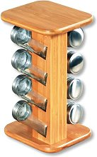 8-Jar Freestanding Spice Rack Kesper