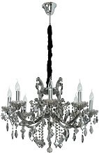 8 Light Candle Chandelier Willa Arlo Interiors