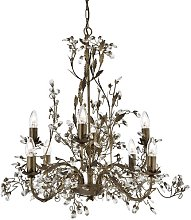 8-Light Candle-Style Chandelier Willa Arlo