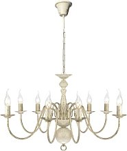 8 Light Chandelier Lily Manor