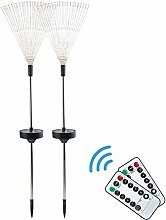 8 Modes Starburst Stake Light Solar Powered Garden