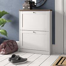 8 Pair Shoe Storage Cabinet Brambly Cottage
