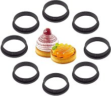8-Piece Cake Mold, Pastry Pie Ring Perforated