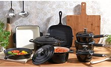 8 Piece Cast Iron Cookware Set Cooks Professional