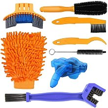 8-Piece Cleaning Kit for MTB BMX Bikes with