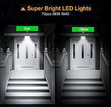 8 Piece LED Flood Light Waterproof Super Bright