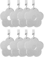 8 Piece Tablecloth Weights Stainless Steel Flower