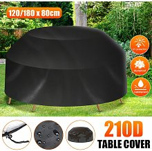 8 Seater Waterproof Outdoor Round Tablecloth for