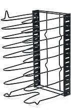 8 Shelf Kitchen Storage Storage Drip Tray Holder