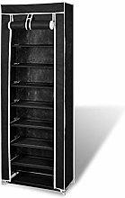 8 Tier Shoe Rack Cabinet Standing Storage