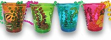 8 x Personalised Hawaiian Shot Glasses Ideal for a