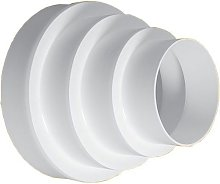 80/100/120/125/150/160mm Round Vent Pipe