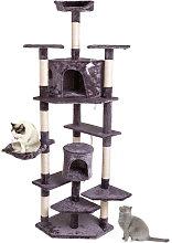 80 inch(201CM) High Solid Cat Climb Tree Cat Tower